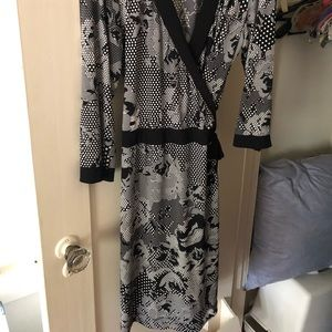 Style & Co Wrap Dress